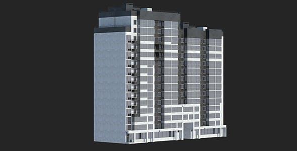 Buildings Set 1 Block 1 - 3DOcean Item for Sale