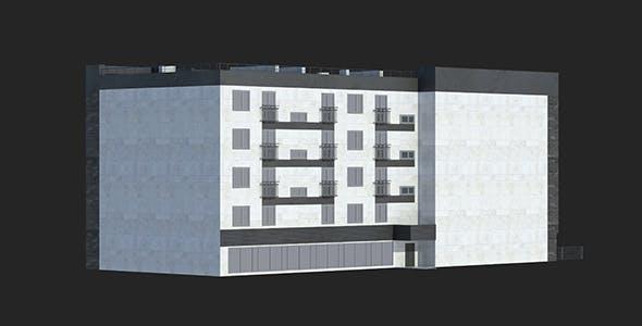 Buildings Set 1 Block 3 - 3DOcean Item for Sale