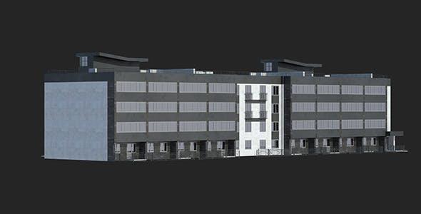 Buildings Set 1 Block 4 - 3DOcean Item for Sale