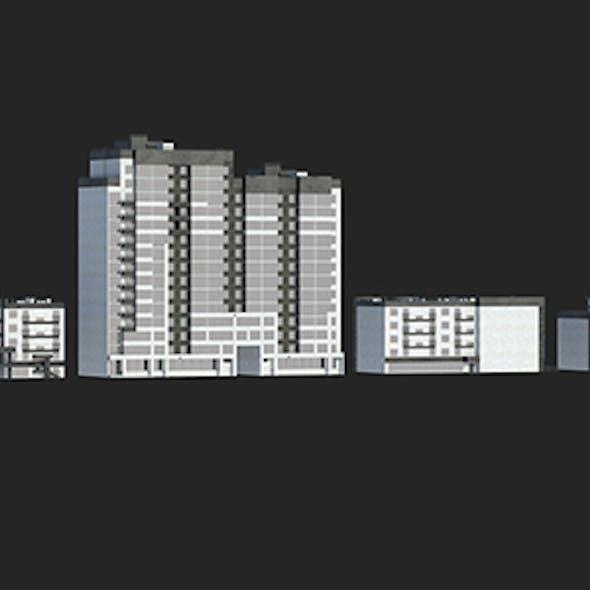 Buildings Set 1 Vol 1
