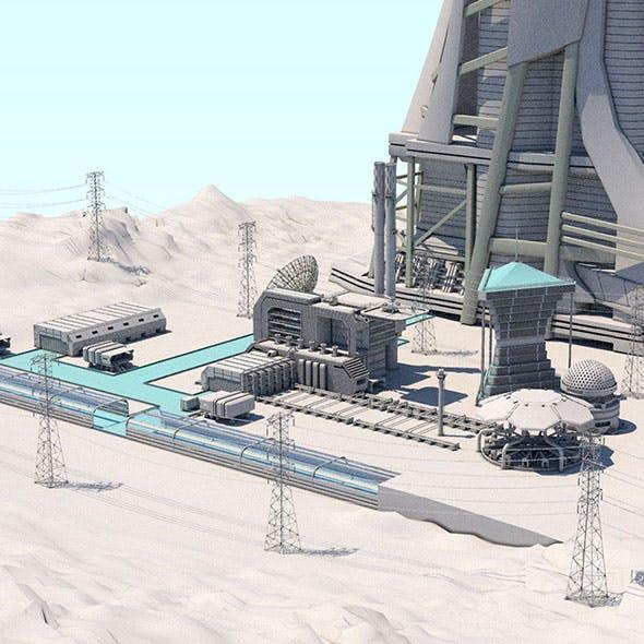 Futuristic Exoplanetary Facility