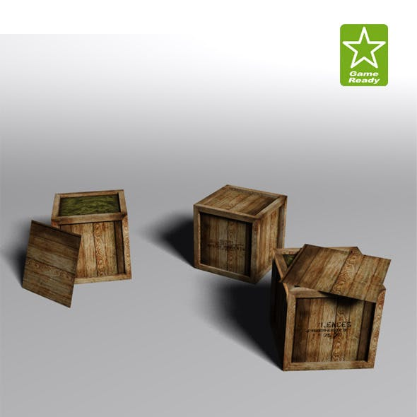 Crates Collection - 3DOcean Item for Sale