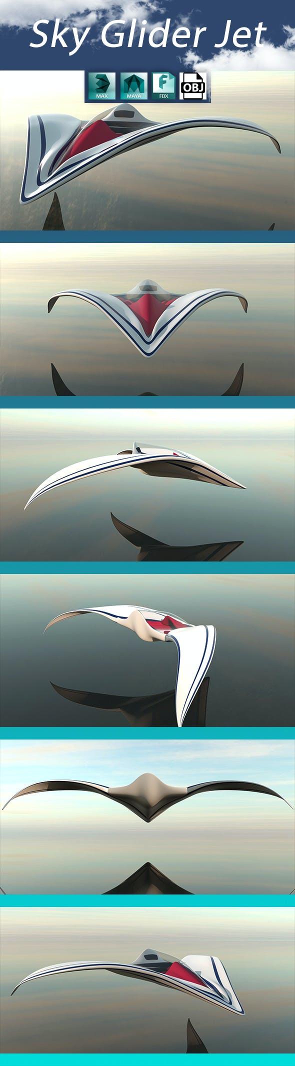 SKY GLIDER JET - 3DOcean Item for Sale