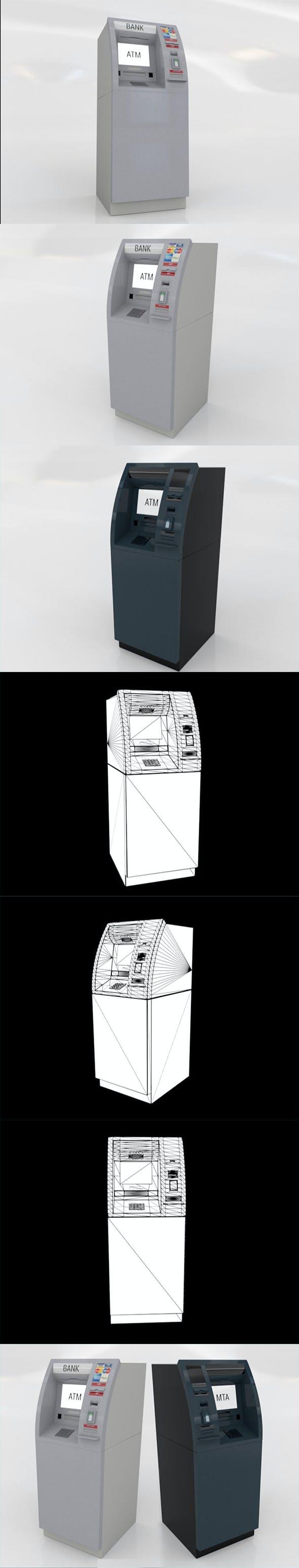 ATM BANK - 3DOcean Item for Sale