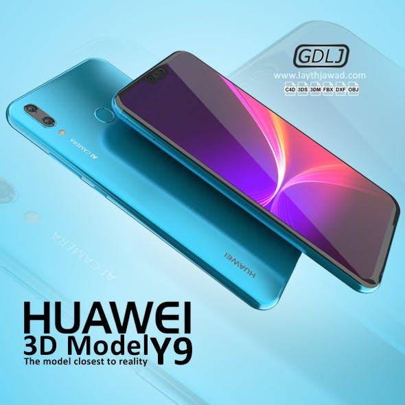 Huawei Y9 2019 - 3DOcean Item for Sale