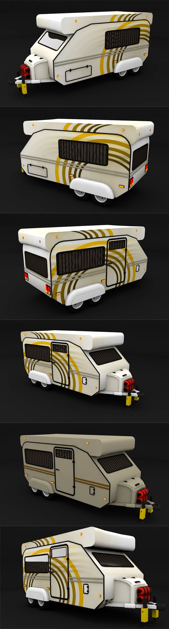 Trailer Travel - 3DOcean Item for Sale