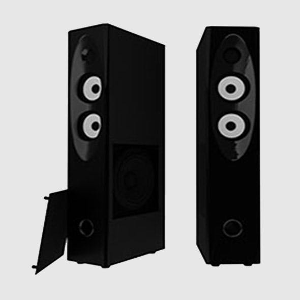 Speakers - 3DOcean Item for Sale