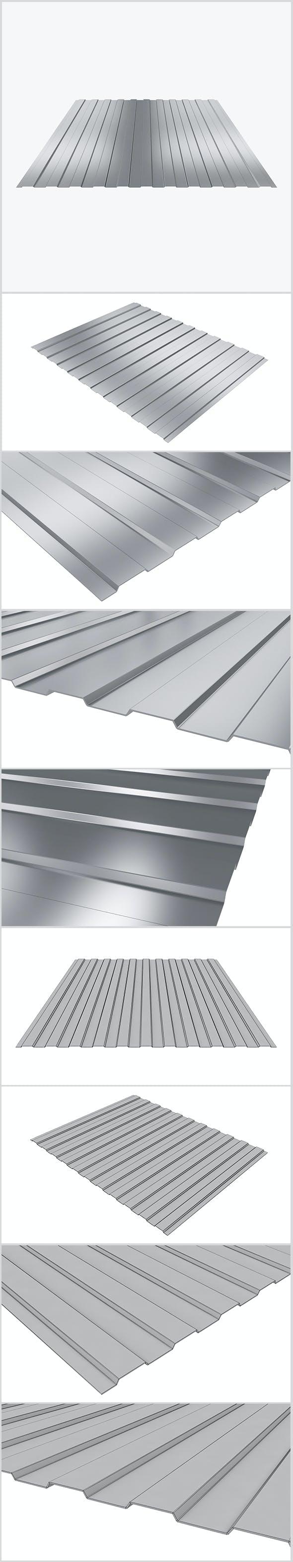 Profiled sheet 03 - 3DOcean Item for Sale