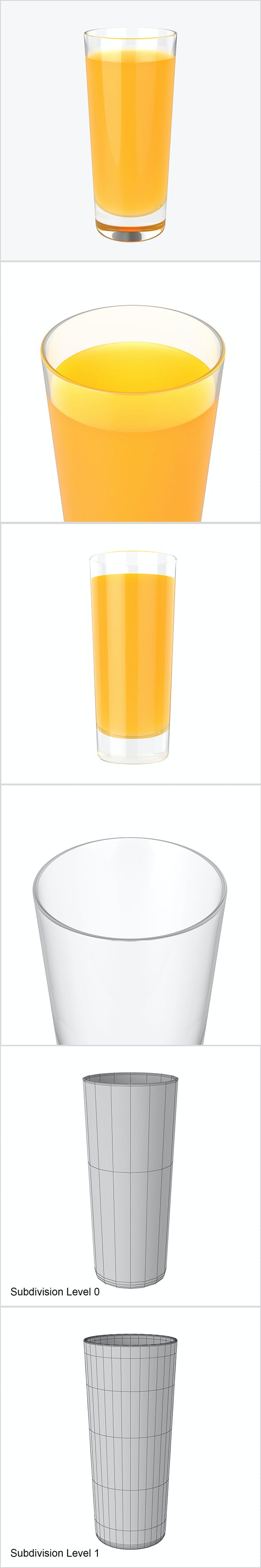 Glass juice - 3DOcean Item for Sale