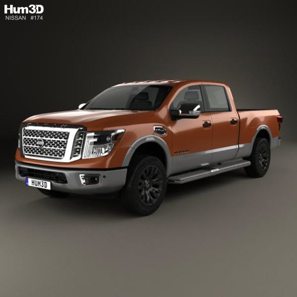 Nissan Titan Crew Cab Platinum Reserve 2017