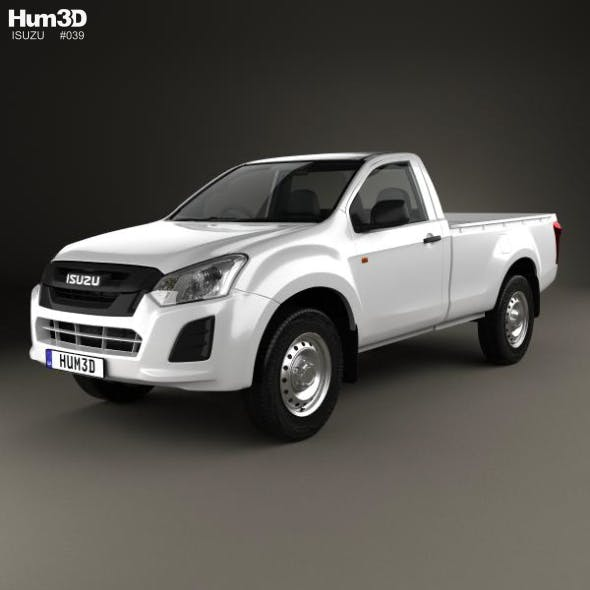 Isuzu D-Max Single Cab Ute SX 2017 - 3DOcean Item for Sale