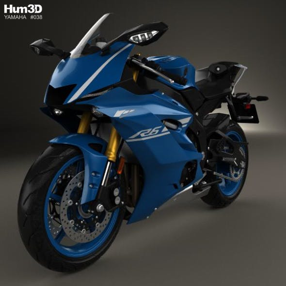 Yamaha R6 2017 - 3DOcean Item for Sale