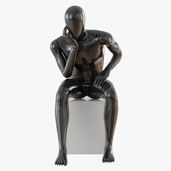 Faceless male mannequin 11