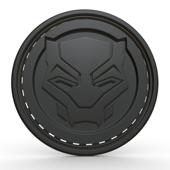 Black panther stripe - 3DOcean Item for Sale