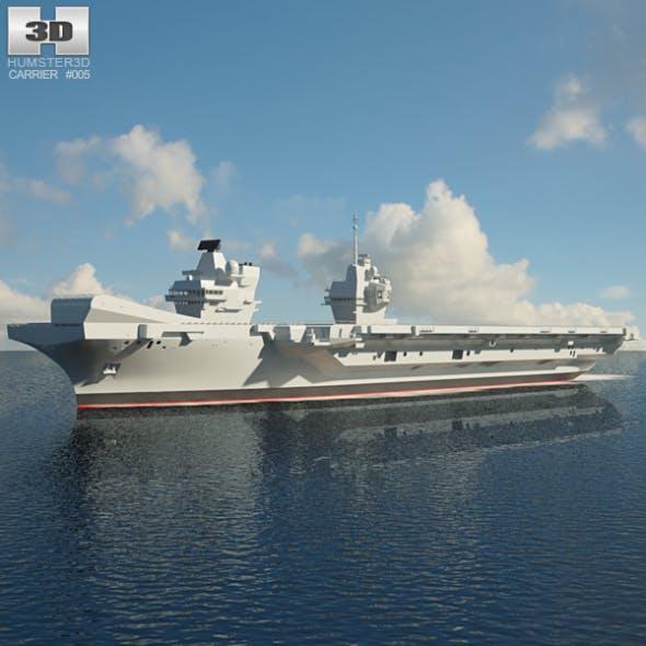 HMS Queen Elizabeth - 3DOcean Item for Sale