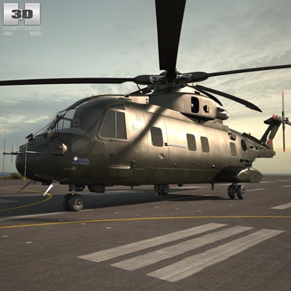 AgustaWestland AW101 Merlin - 3DOcean Item for Sale