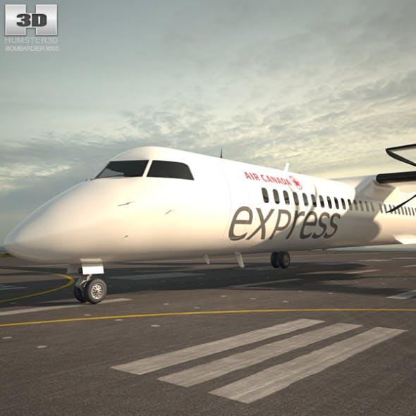 Bombardier Dash 8 - 3DOcean Item for Sale