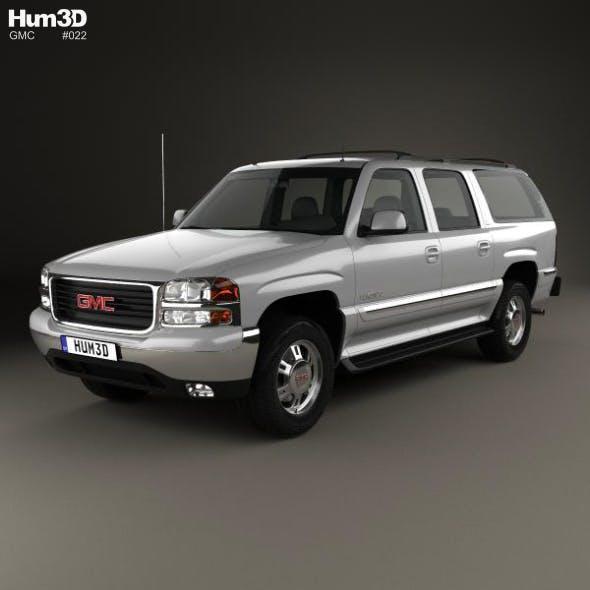 GMC Yukon XL 2000 - 3DOcean Item for Sale