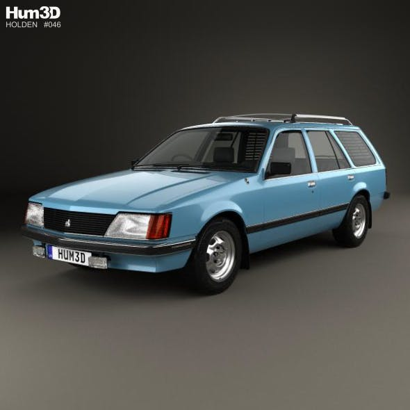 Holden Commodore Wagon 1981 - 3DOcean Item for Sale