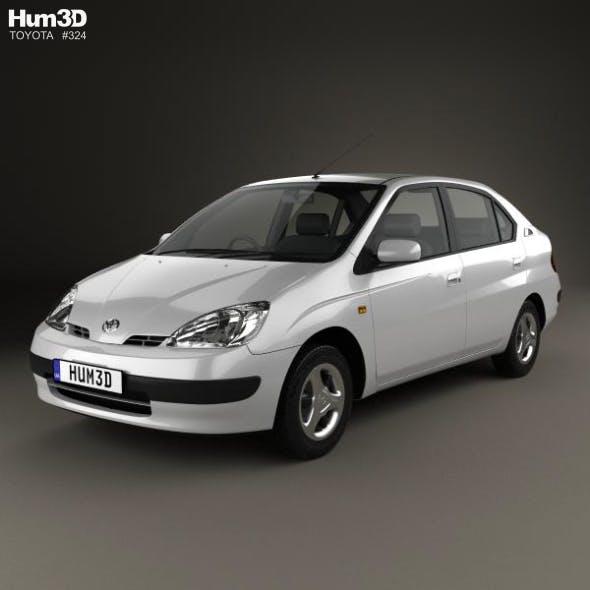 Toyota Prius (JP) 1997 - 3DOcean Item for Sale