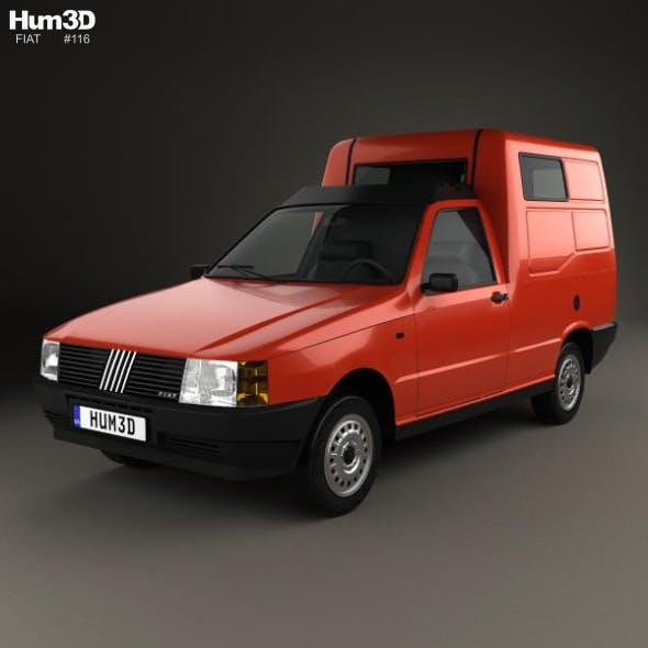 Fiat Fiorino Panel Van 1988