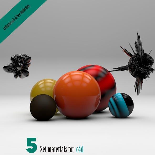 5 New materials & free studio