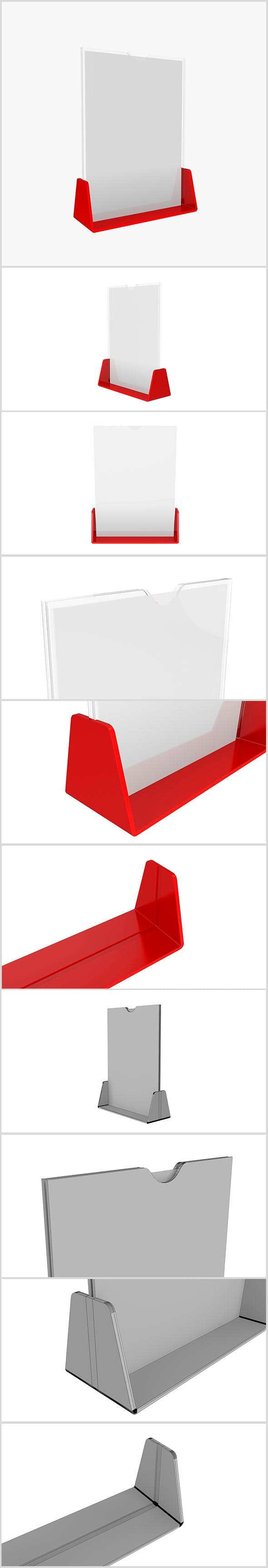 3D model Plastic Holder - 3DOcean Item for Sale