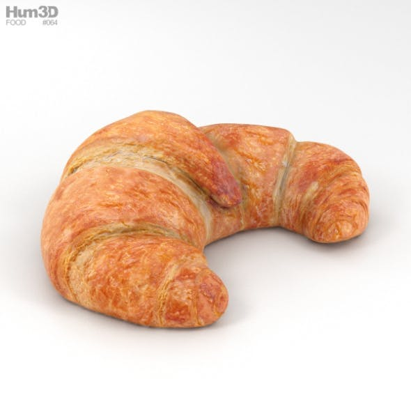 Croissant - 3DOcean Item for Sale