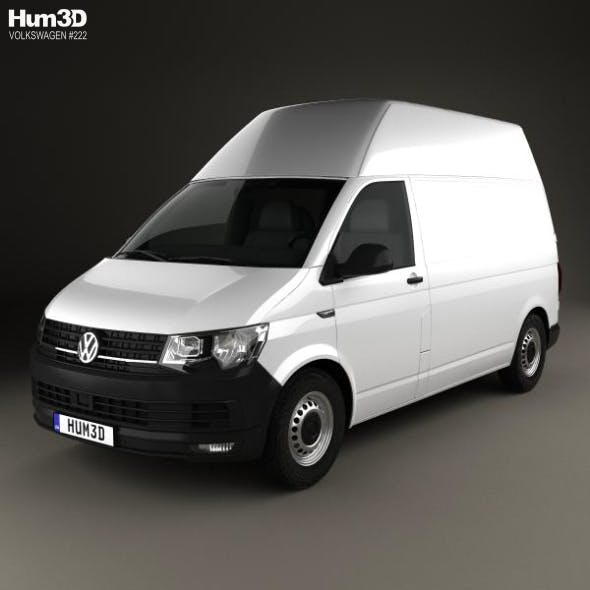 Volkswagen Transporter (T6) Panel Van High Roof 2016 - 3DOcean Item for Sale