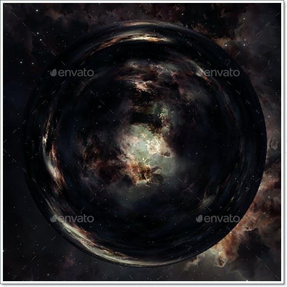 Nebula Space Environment HDRI Map 021