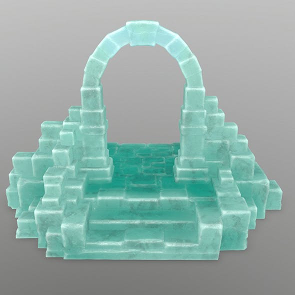 ice gate 3 - 3DOcean Item for Sale