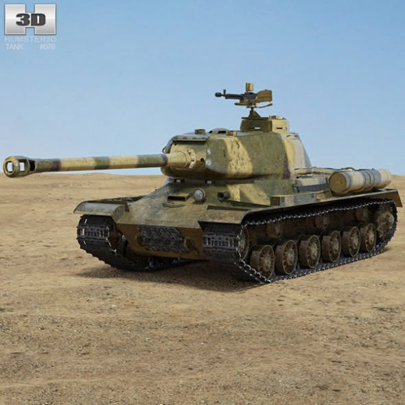 IS-2 - 3DOcean Item for Sale