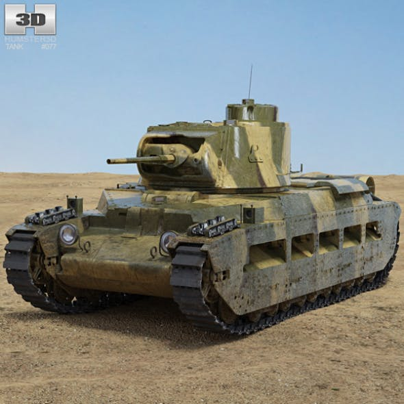 Matilda II - 3DOcean Item for Sale