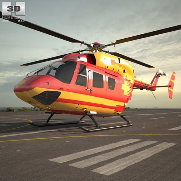 MBB/Kawasaki BK 117 - 3DOcean Item for Sale