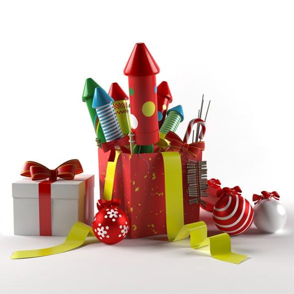 fireworks - 3DOcean Item for Sale