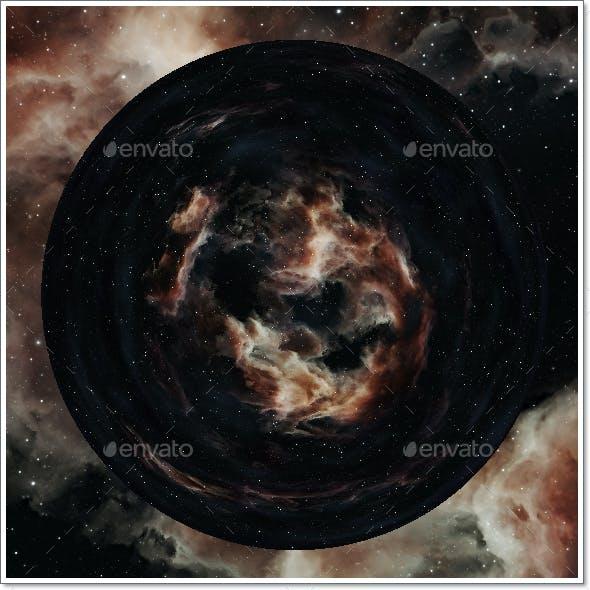 Nebula Space Environment HDRI Map 022