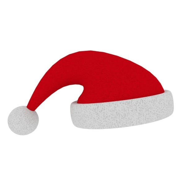 Rigged Christmas Hat - 3DOcean Item for Sale
