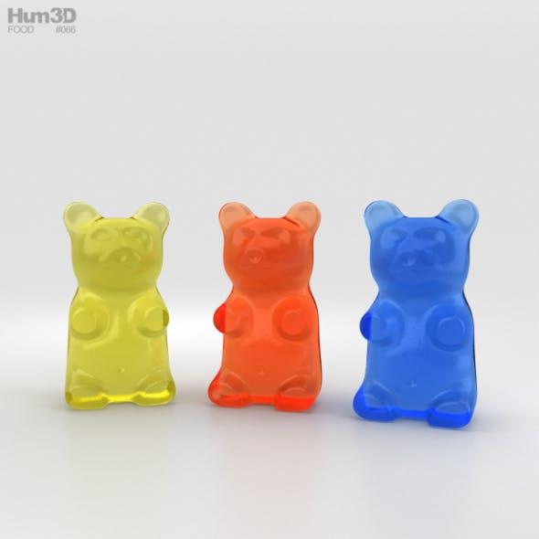 Gummy Bear - 3DOcean Item for Sale