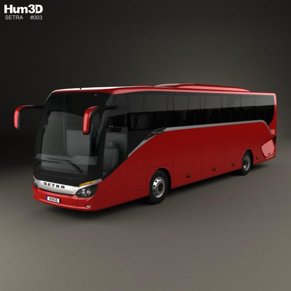 Setra S 515 HD Bus 2012 - 3DOcean Item for Sale