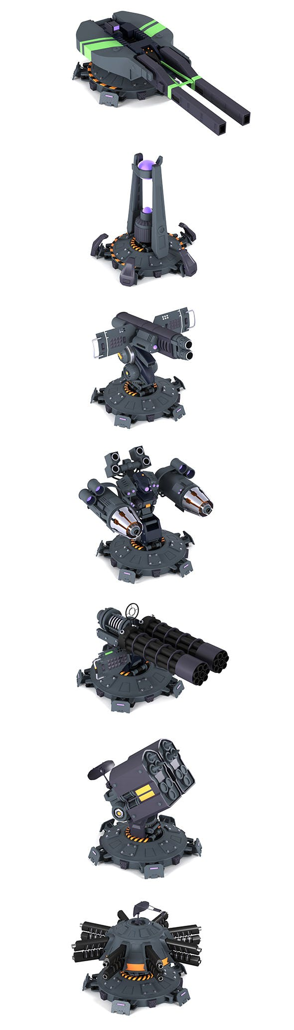 Tower Defence - 3DOcean Item for Sale