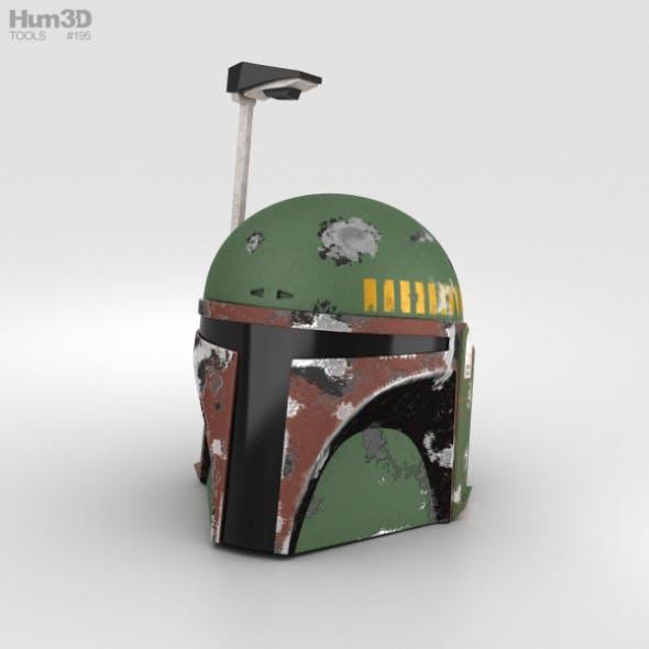 Boba Fett Helmet - 3DOcean Item for Sale