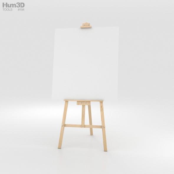 Easel - 3DOcean Item for Sale