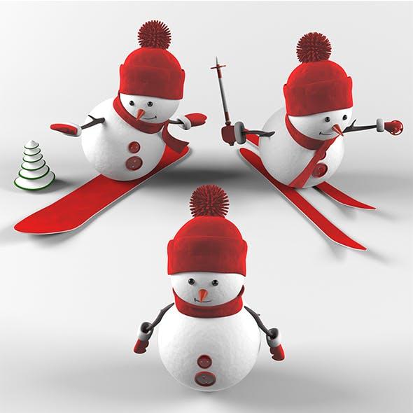 Snowmen - 3DOcean Item for Sale