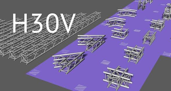 Prolyte H30V square trusses - 3DOcean Item for Sale