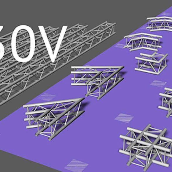 Prolyte H30V square trusses