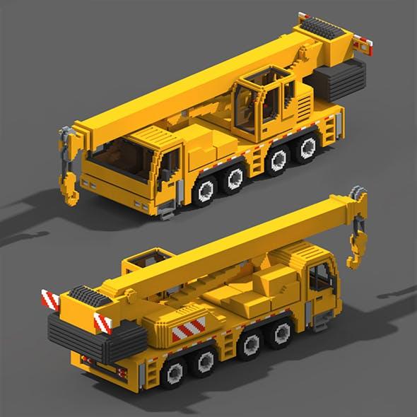 Voxel Crane Truck