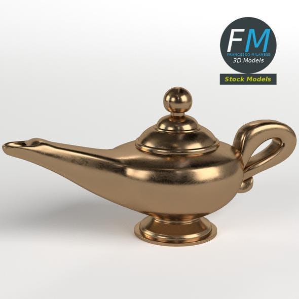Aladdin genie lamp - 3DOcean Item for Sale