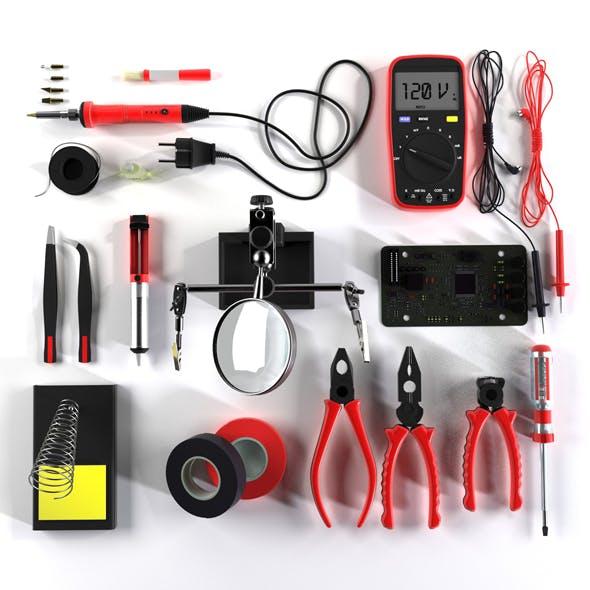 Soldering - 3DOcean Item for Sale