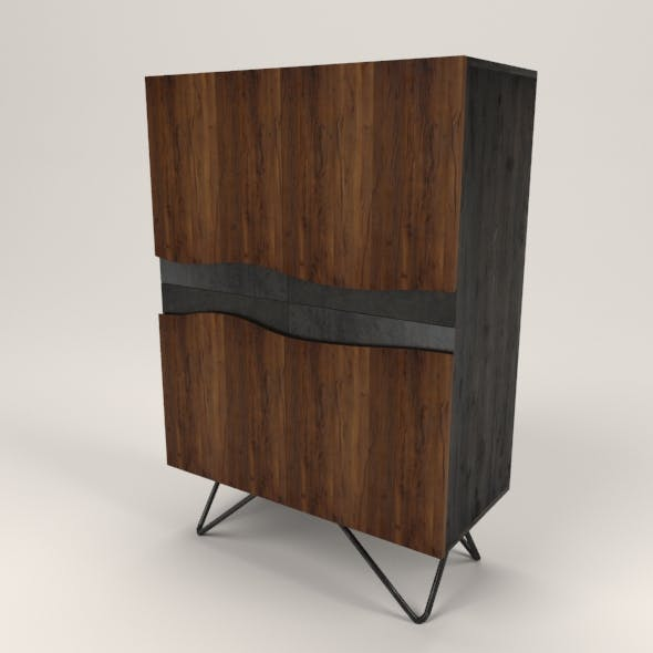 Lora cabinet - 3DOcean Item for Sale