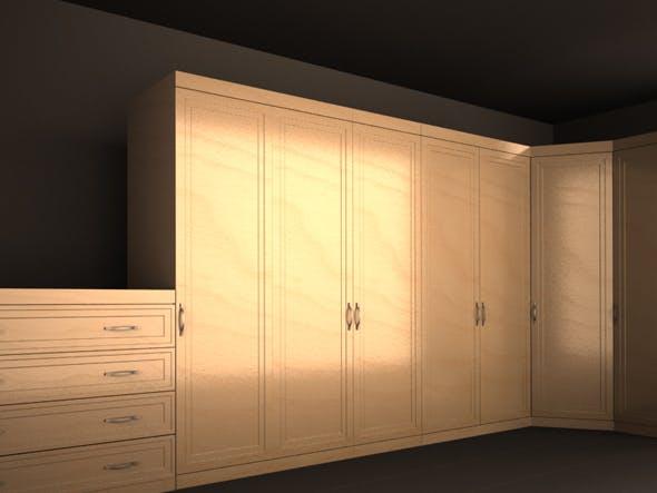 cupboard set - 3DOcean Item for Sale